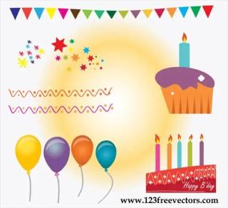 Free Birthday Cake Vector