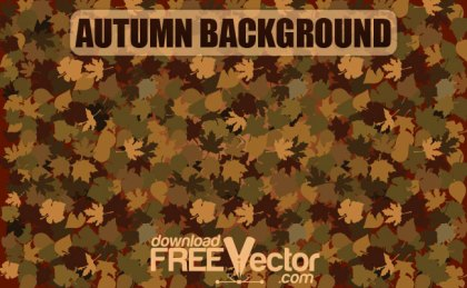 Autumn Background Free Vector