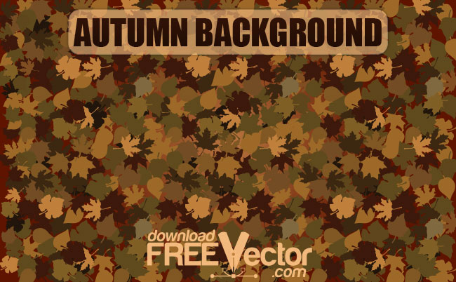 Autumn Background Free Vector