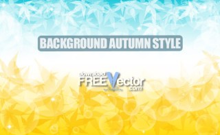 Background Autumn Style Free Vector