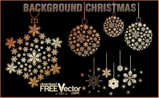 Backgrounds Christmas Free Vector
