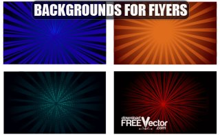 Backgrounds For Flyers Free Vector