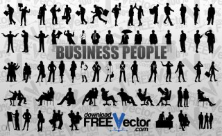 Business People Free Vector