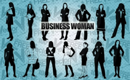 Business Woman Free Vector