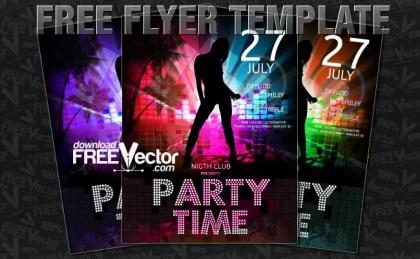 Flyer Templates Free Vector
