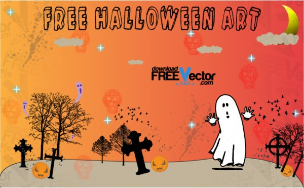 Halloween Art Free Vector