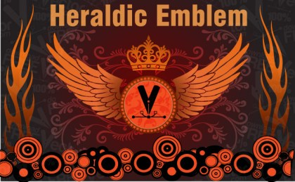 Heraldic Emblem Free Vector