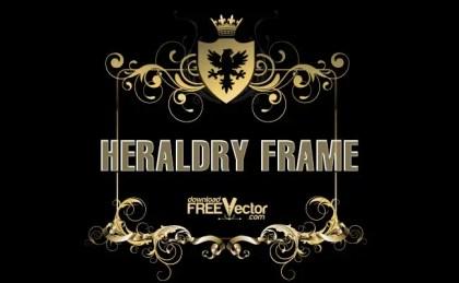 Heraldry Frame Free Vector