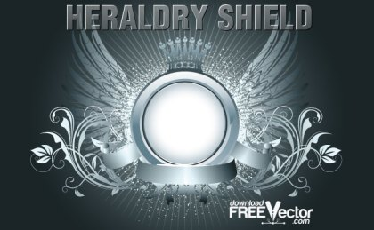 Heraldry Shield Free Vector