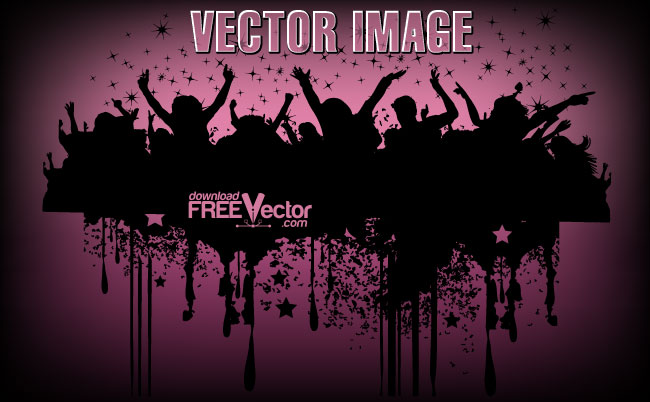 People Silhouettes Image Free Vector