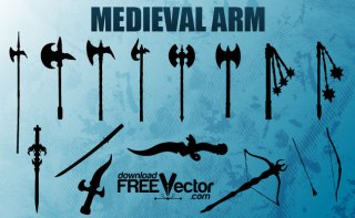 Medieval Arm Free Vector