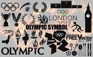 Olympic Symbol Clip Art Free Vector