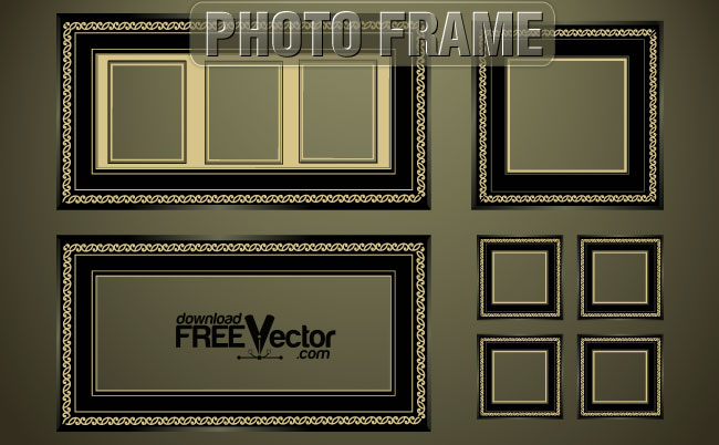 Photo Frame Free Vector
