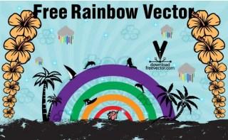 Rainbow Free Vector
