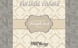 Vintage Frame Free Vector