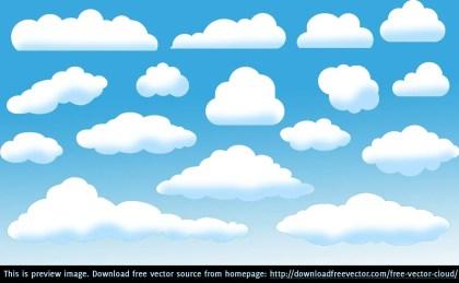 Cloud Free Vector