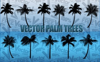Palm Trees Free Vector