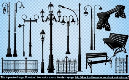 Street Lamp Free Vector