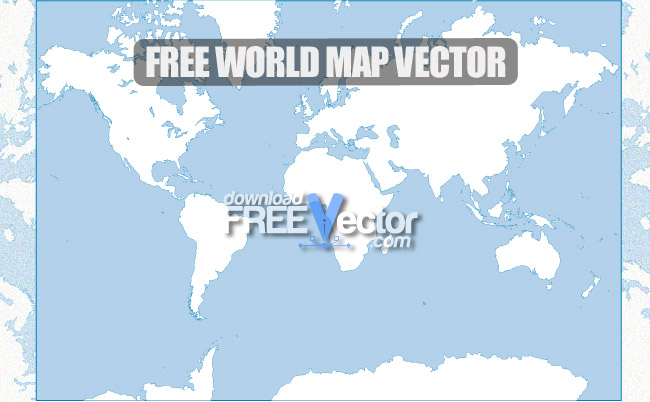 World map free vector 123freevectors world map free vector gumiabroncs Images