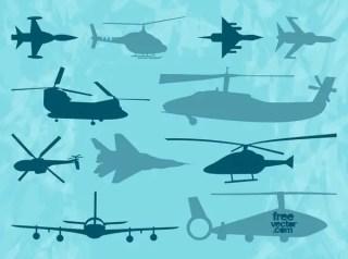 Aircraft s Free Vector