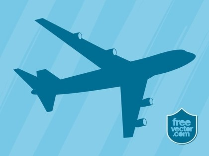 Airplane Free Vector