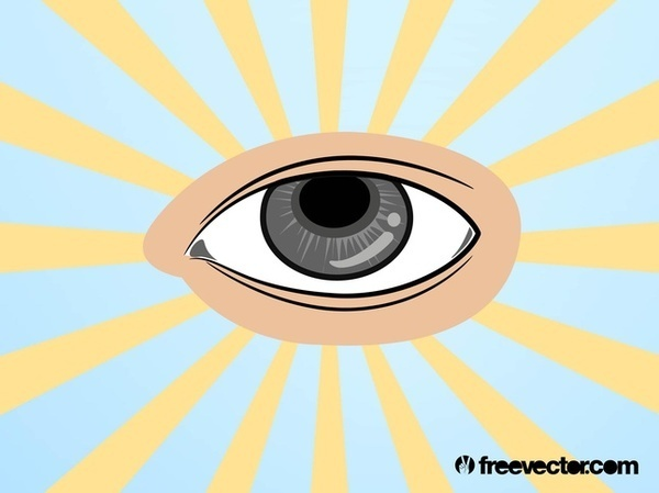 All Seeing Eye Free Vector