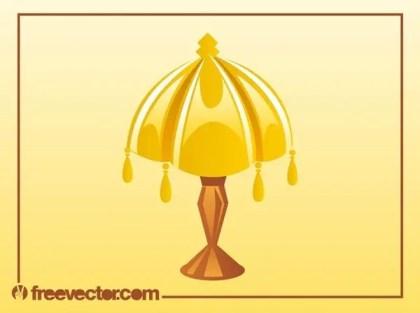 Antique Lamp Free Vector