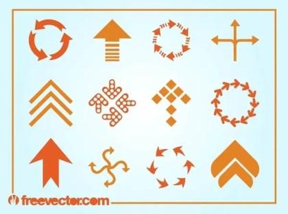 Arrows Logos Free Vector