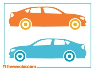 Automobile Silhouettes Free Vector
