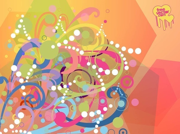 Background Elements Free Vector