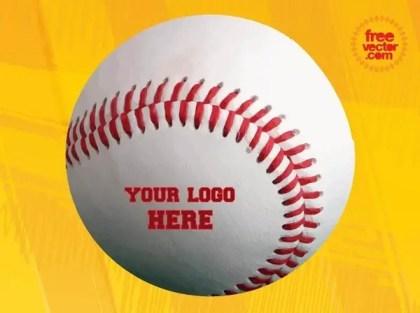 Baseball Ball Free Vector