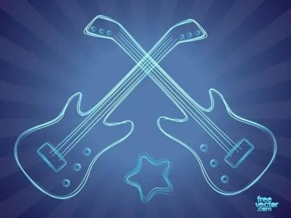 Bass Guitar Free Vector