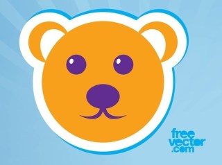 Bear Icon Free Vector