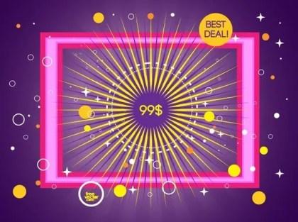 Best Deal Free Vector