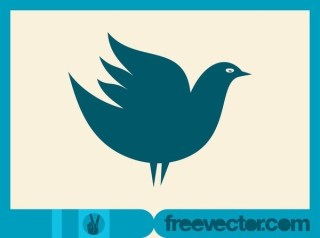 Bird Icon Free Vector