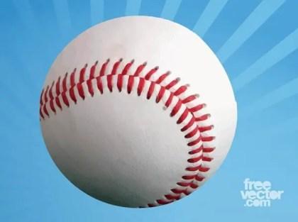 Blank Baseball Free Vector