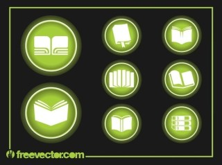 Book Icons Free Vector