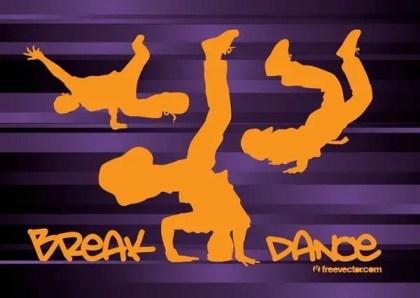 Breakdancing Free Vector