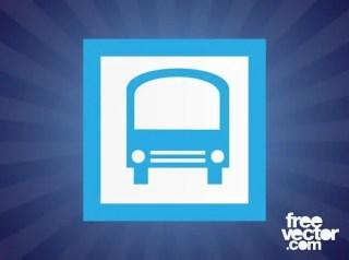 Bus Icon Free Vector