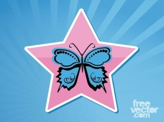 Butterfly Free Vector