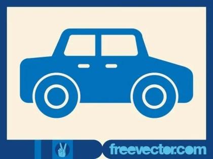 Car Icon Free Vector