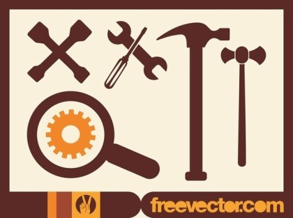 Car Tools Free Vector