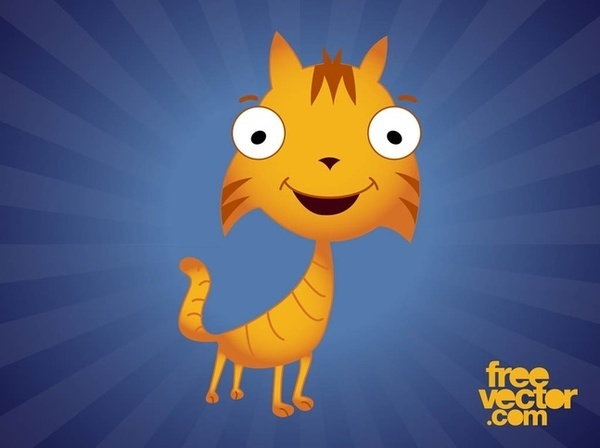 Cartoon Cat Free Vector