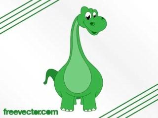 Cartoon Dinosaur Free Vector