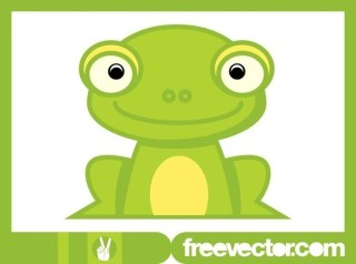 Cartoon Frog Free Vector