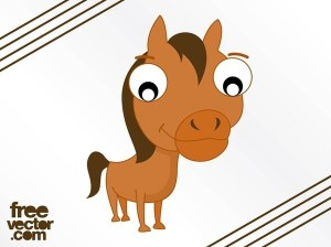 Cartoon Horse Free Vector