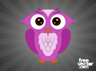 Cartoon Owl Free Vector