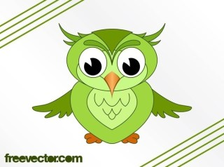 Cartoon Owl Image Free Vector