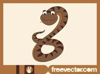 Cartoon Snake Free Vector