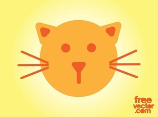Cat Icon Free Vector